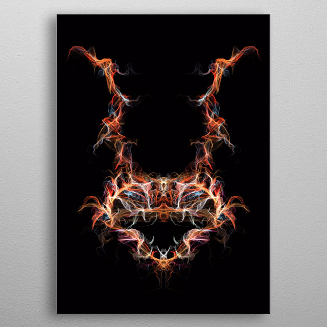 I am your nightmare. metal poster