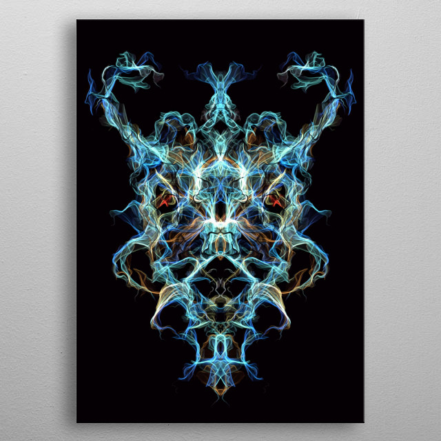 Now I know what a ghost is. Unfinished business, that's what. metal poster