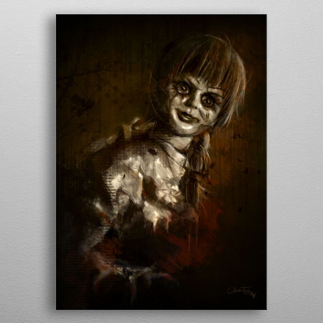 Annabelle - Creation metal poster