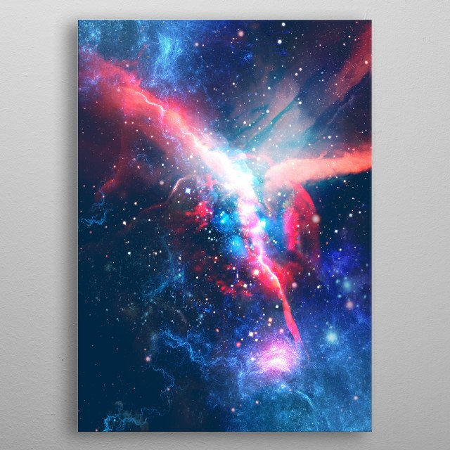 Lost in the Stars metal poster