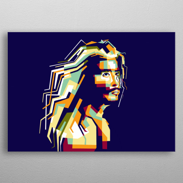 Steve harris artis legend musician america in wpap popart portrait colourful  metal poster