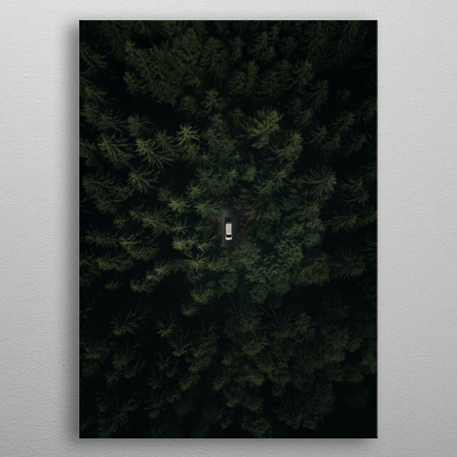 """""""Jungle"""" in Czech Republic metal poster"""