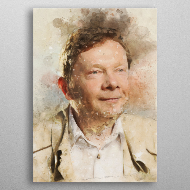 eckhart tolle power of now metal poster