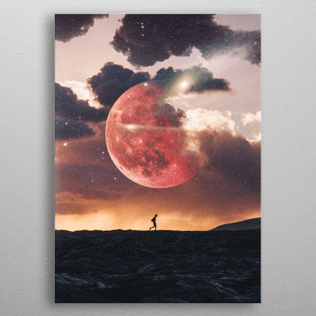 High-quality metal print from amazing Depths Of Colour collection will bring unique style to your space and will show off your personality. metal poster