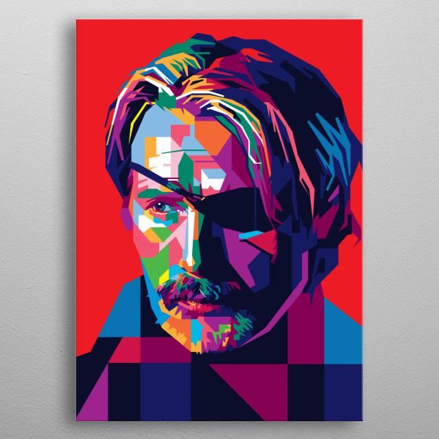 Mads Mikkelsen is a one-eyed assassin in Netflix's 'Polar'  metal poster