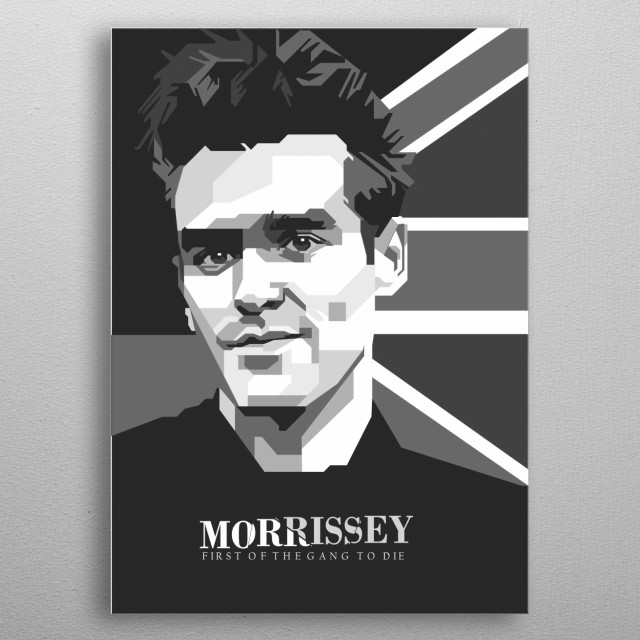 Steven Patrick Morrissey known mononymously as Morrissey, is an English singer, songwriter and author metal poster
