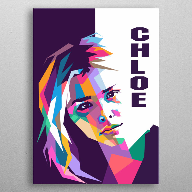 Chloe Grace Moretz is an American actress and model. metal poster