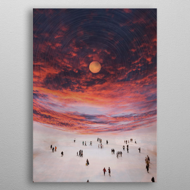 High-quality metal wall art meticulously designed by fanfreak would bring extraordinary style to your room. Hang it & enjoy. metal poster