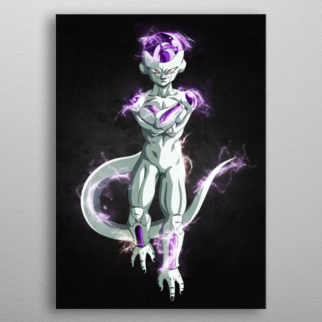 The evil king metal poster