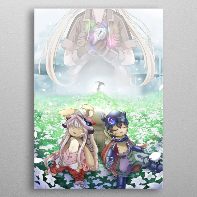 Fanart inspired by : Made in Abyss metal poster