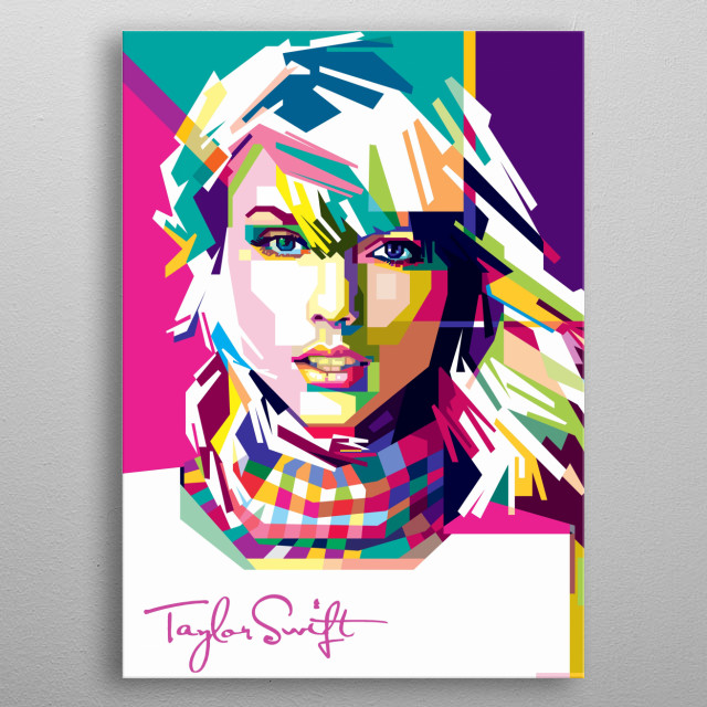 Taylor Alison Swift is an American singer-songwriter. As one of the world's leading contemporary recording artists. metal poster