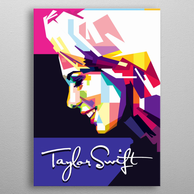 A Pop Art Belong to you as Swifty, very good colorful. metal poster