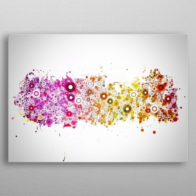 A nebula is an interstellar cloud of dust, hydrogen, helium and other ioniz. metal poster