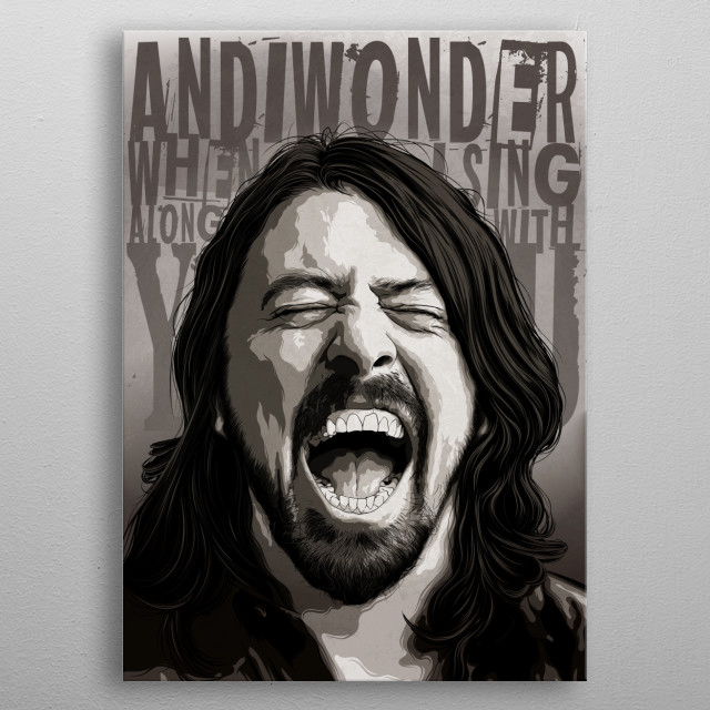 Legend and the nicest man in rock.  metal poster