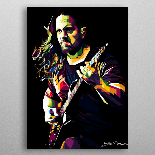 John Petrucci is a musician and a guitarist who played for Dream Theater. metal poster