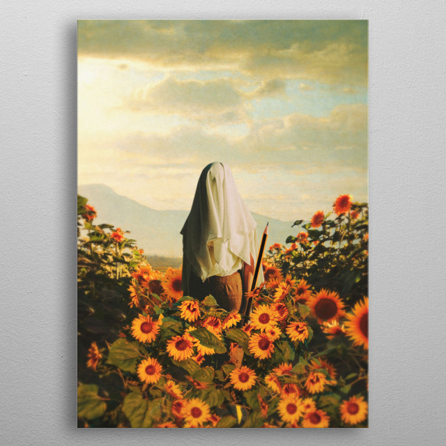 This marvelous metal poster designed by lacabezaenlasnubes to add authenticity to your place. Display your passion to the whole world. metal poster
