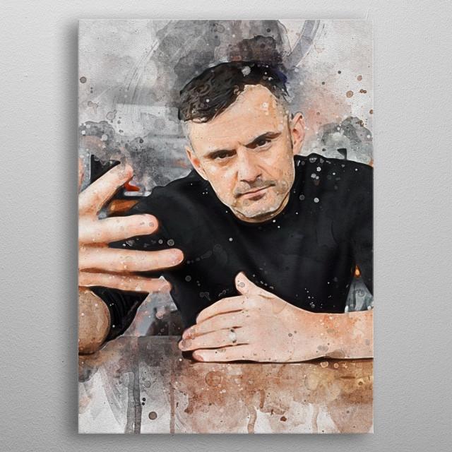 Gary Vaynerchuk Vee V  metal poster