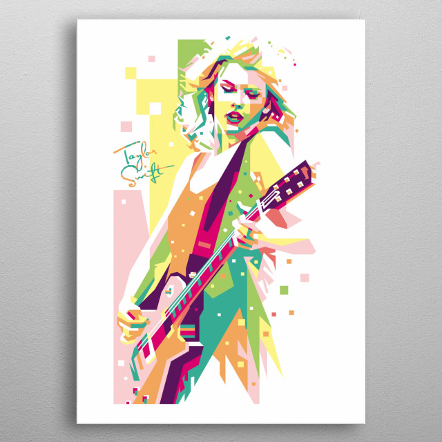 an American singer-songwriter. As one of the world's leading contemporary recording artists metal poster