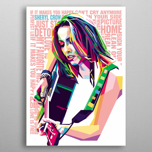 an American musician, singer-songwriter and actress metal poster