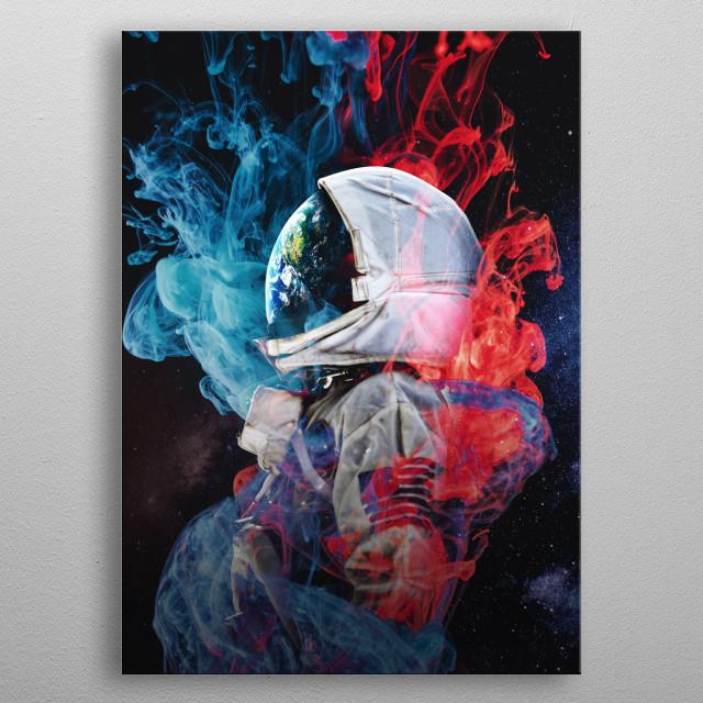 space Interstellar Art collection metal poster