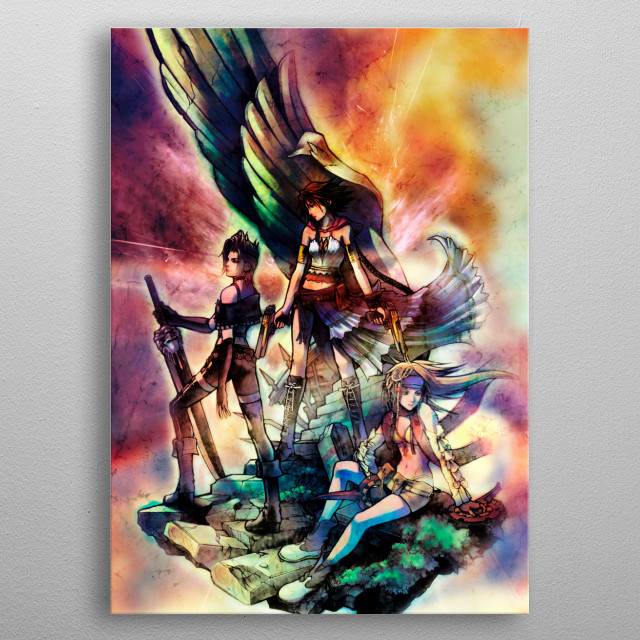 Fascinating  metal poster designed with love by Jaime_arts. Decorate your space with this design & find daily inspiration in it. metal poster