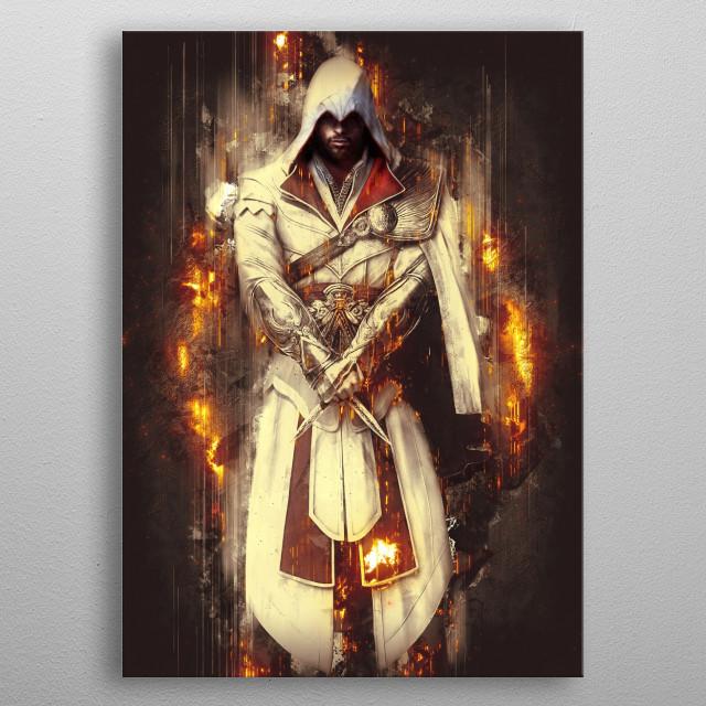 Assassin Creed metal poster