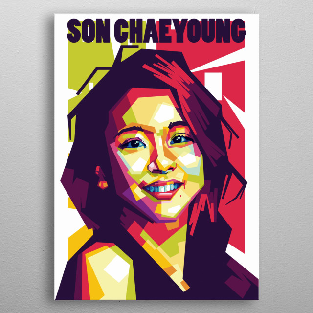 WPAP is an artwork which come frome indonesian. it has a special characters to portray an object. use suitable composition of various colors metal poster
