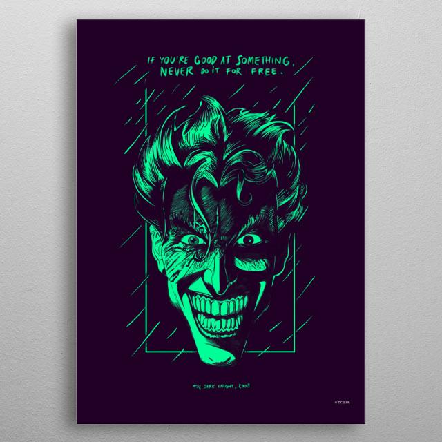 Good At Something metal poster