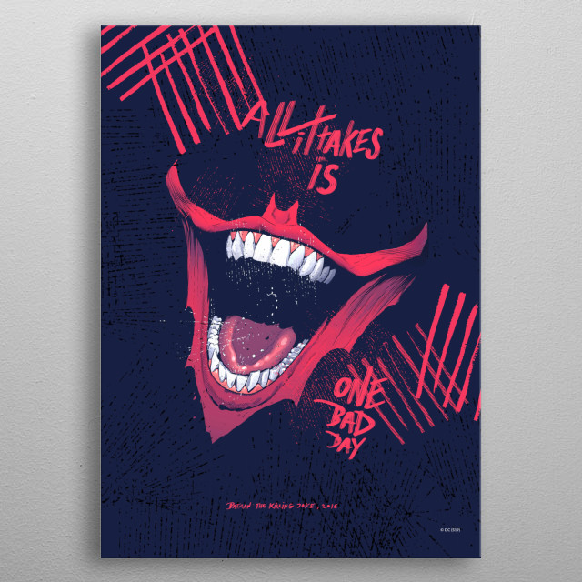 One Bad Day metal poster