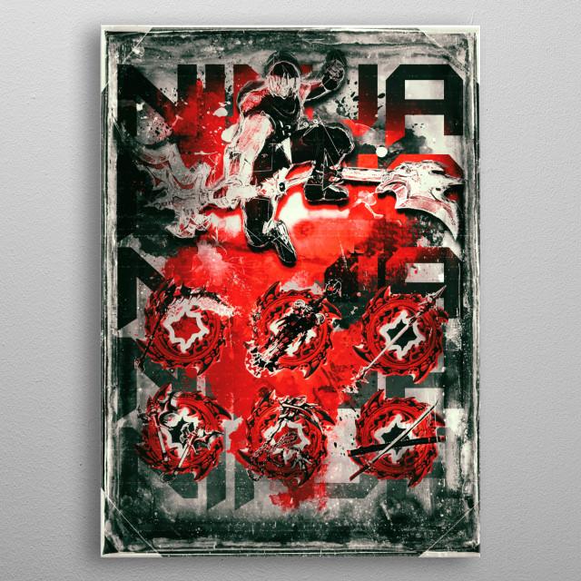 Ninja Gaiden sigma 2 master weapons gamer metal poster
