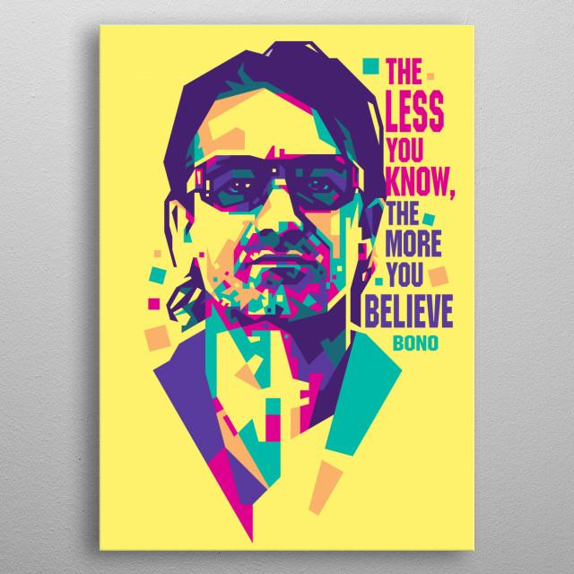 an Irish singer-songwriter, musician, venture capitalist, businessman, and philanthropist metal poster