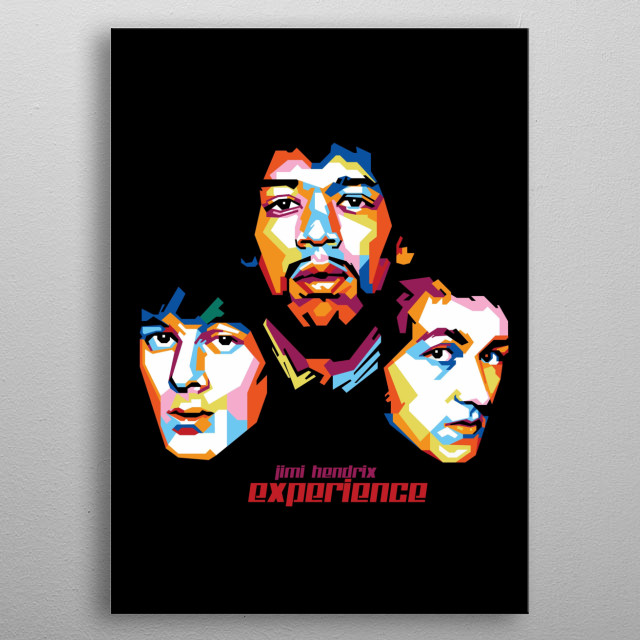 The Jimi Hendrix Experience was an American-English rock band that formed in Westminster, London, in September 1966. Singer, songwriter metal poster