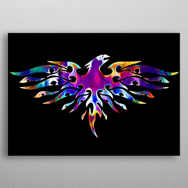 Fascinating metal poster designed by Ari Design. Displate has a unique signature and hologram on the back to add authenticity to each design. metal poster