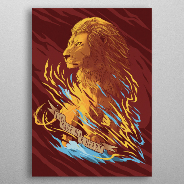 This marvelous metal poster designed by smokinmirror to add authenticity to your place. Display your passion to the whole world. metal poster