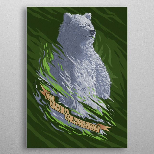 High-quality metal print from amazing Beasts Of Culture collection will bring unique style to your space and will show off your personality. metal poster