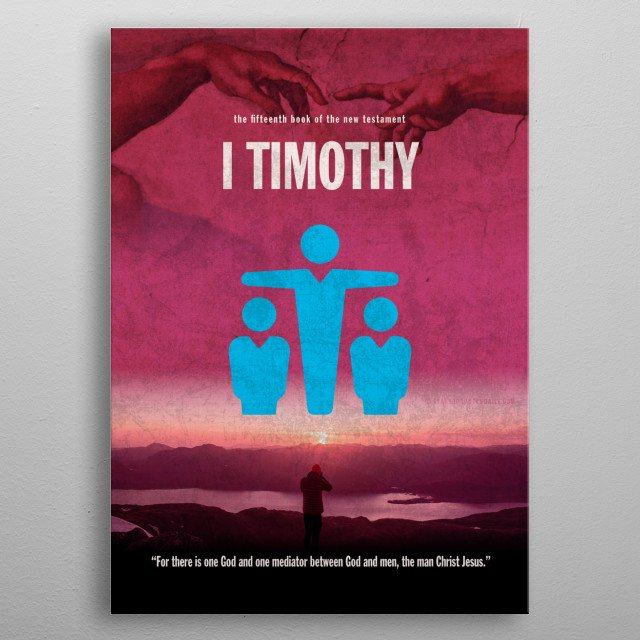 High-quality metal print from amazing Books Of The Bible Minimal Posters Series collection will bring unique style to your space and will show off your personality. metal poster