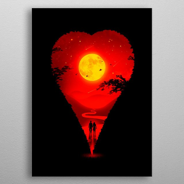 Love will always find a way. metal poster