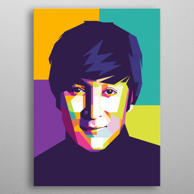 was an English singer, songwriter, and peace activist who co-founded the Beatles metal poster