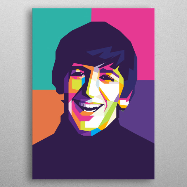 is an English musician, singer, songwriter and actor who gained worldwide fame as the drummer for the Beatles. metal poster