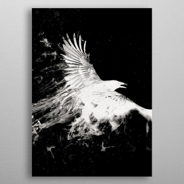 White Eagle metal poster