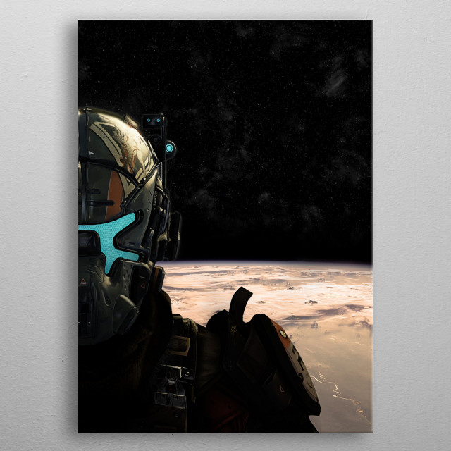 Without Faction Logo metal poster