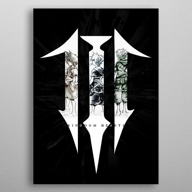 The kingdom wielder  metal poster