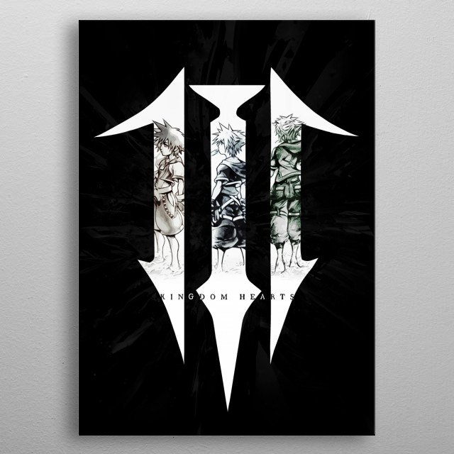 High-quality metal print from amazing Gamer Arts collection will bring unique style to your space and will show off your personality. metal poster
