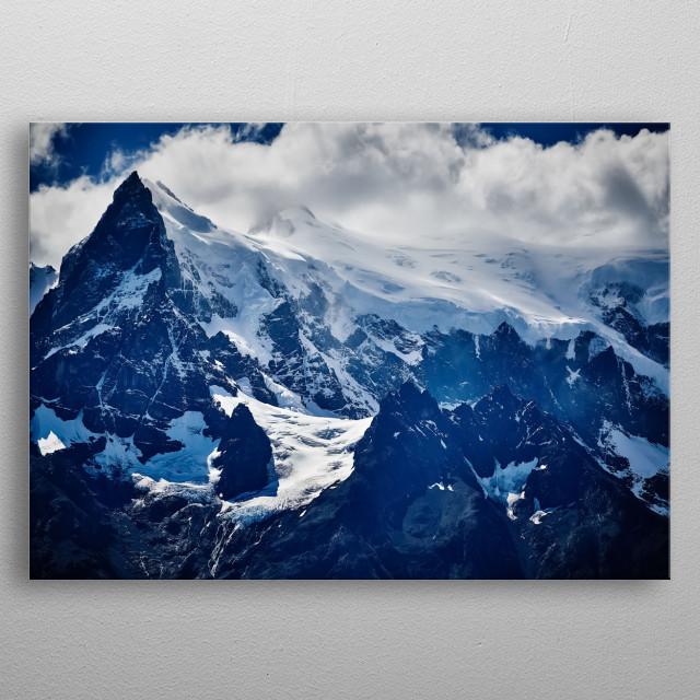 Mountain 144 metal poster