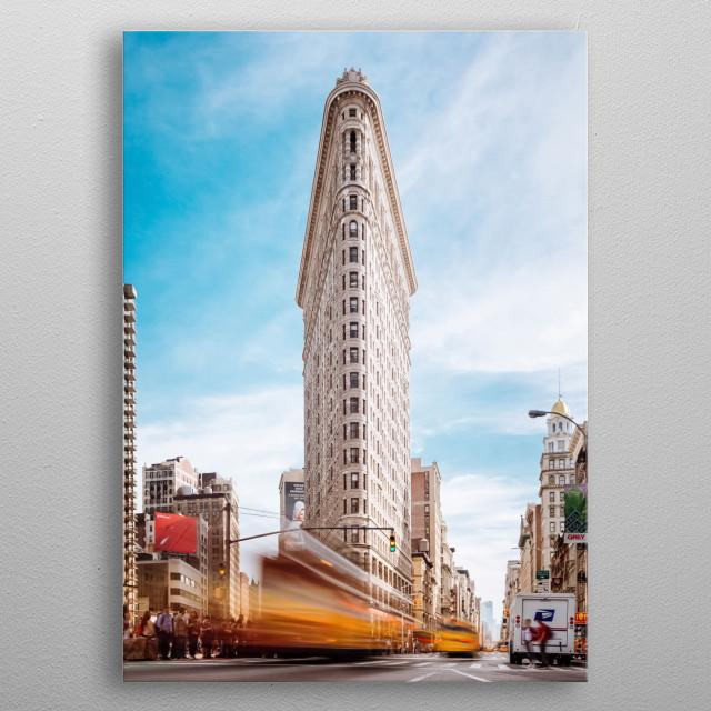 City 150 metal poster