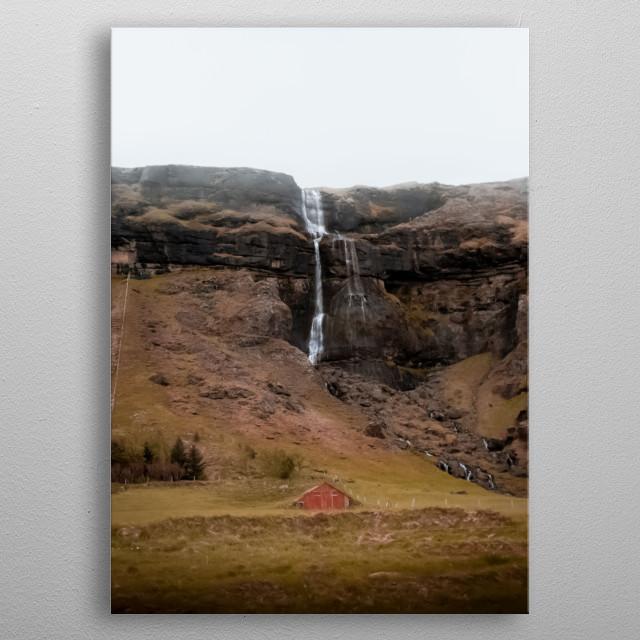 Water Landscape 94 metal poster