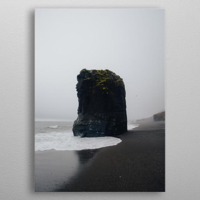 Water Landscape 140 metal poster