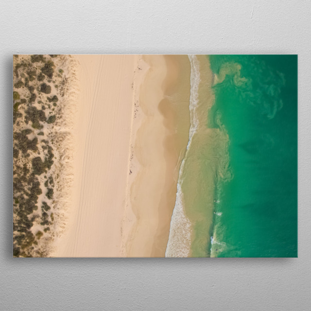 High-quality metal print from amazing Beach collection will bring unique style to your space and will show off your personality. metal poster