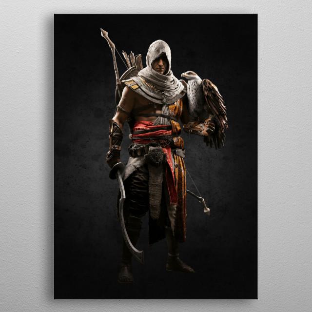 Assassins Creed metal poster