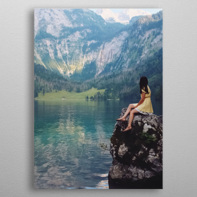 Water Landscape 38 metal poster